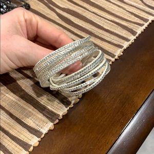 Bracelet or necklace or headband.